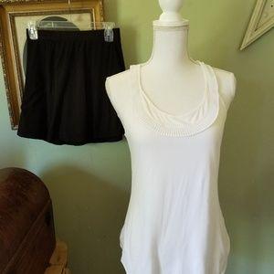 Coldwater Creek size 2x white sleeveless shirt